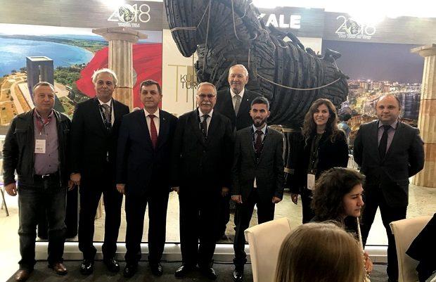 """Belediye'den Travel Turkey Fuarında """"Troia Yılı"""" Vurgusu"""