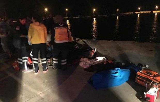 Polyester Tekne Battı: 2'si Çocuk, 7 Mülteci Öldü!