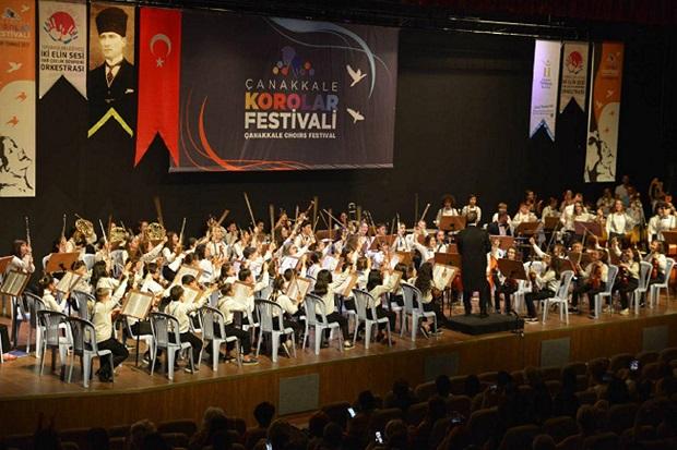 Çanakkale Korolar Festivali 2-7 Temmuzda..