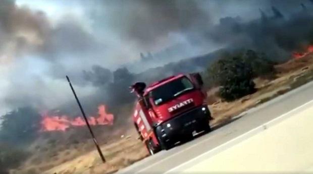 Çanakkale'de 3 Yangın Daha Çıktı..