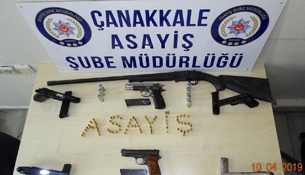 Çanakkale'de Organize Suç Şebekesi Çökertildi