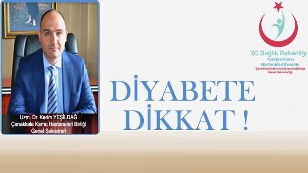 Türkiye'de Diyabet Hastalığı Artıyor