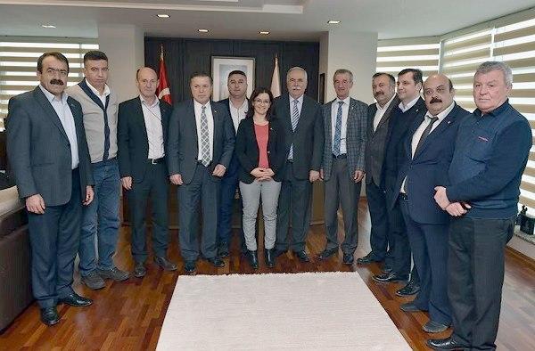CHP'li İlçe Başkanlarından Ülgür Gökhan'a Destek Ziyareti