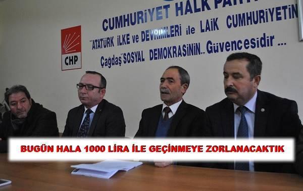 Asgari Ücret Bugün Bin 750 Lira Olabilirdi!