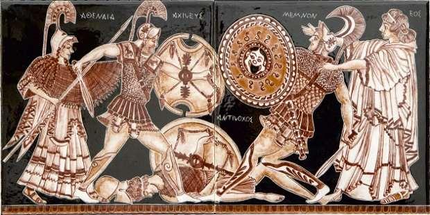3200.Yılında Troia Efsanesi Çini ve Seramik Sergisi Tevfikiye'de
