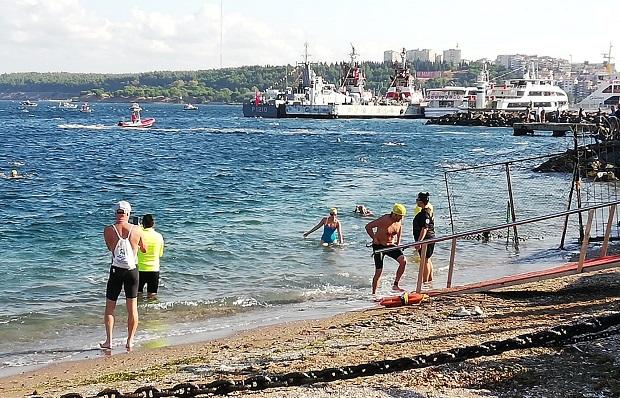 Çanakkale Boğazı Yüzme Yarışması Tamamlandı
