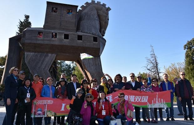 Çinlilerden Çanakkale'ye Kültür Gezisi