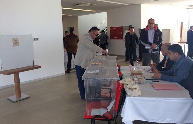 ÇTSO'da Tarihi Gün.. Oy Verme İşlemi Sona Erdi!