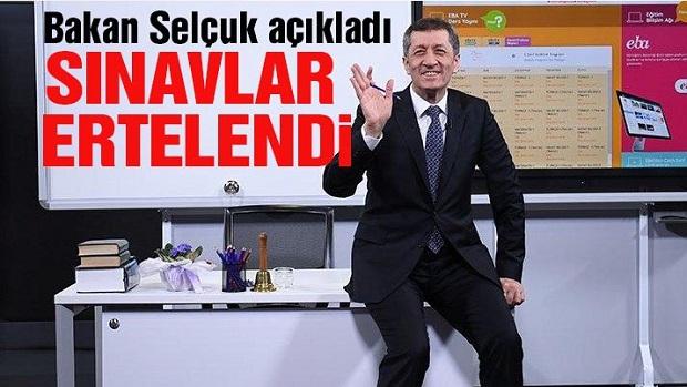 Yüz Yüze Sınavlar Tatil Sonrasına Kaldı..
