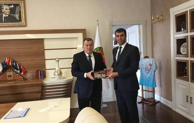 Arslan'dan Yargıtay Başkanına Ziyaret