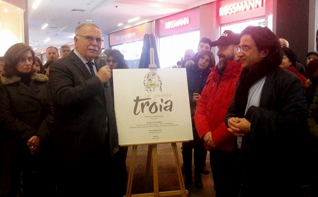 """""""Bir Zamanlar Troia"""" Sergisi Açıldı"""