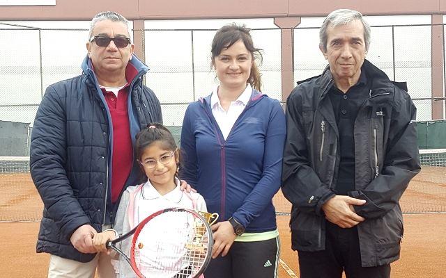 Geleceğin Tenis Yıldızı Palat Birincilikle Döndü