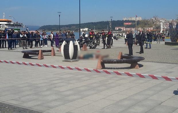 İskele Meydanında Cinayet!