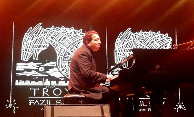 Ünlü Piyanist Çanakkale'yi Troya Sonatı'yla Büyüledi