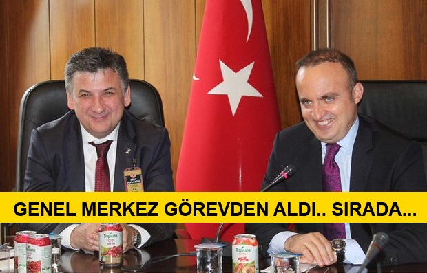 """Bülent Turan'ın """"Prensi"""" Görevden Alındı!"""
