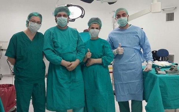 Yanık Ünitesinde İlk Ameliyat Başarıyla Geçti