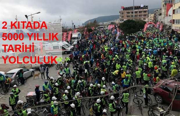 Kale Bisiklet Turu 5000 Bisikletsever ile Tamamlandı