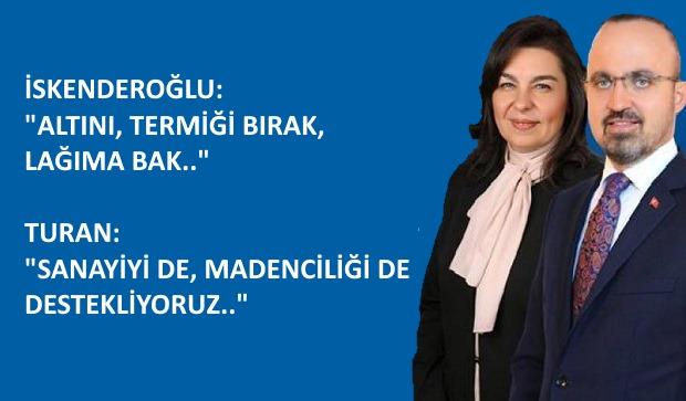Kazdağları Araştırması AKP ve MHP Oylarıyla Red Edildi..