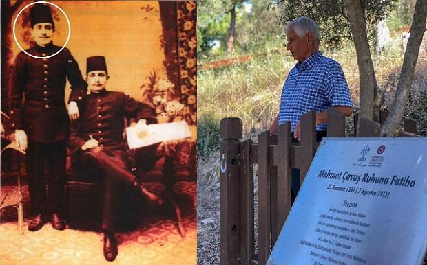 Dedesinin Mezarını Şahadet Gününde Ziyaret Etti