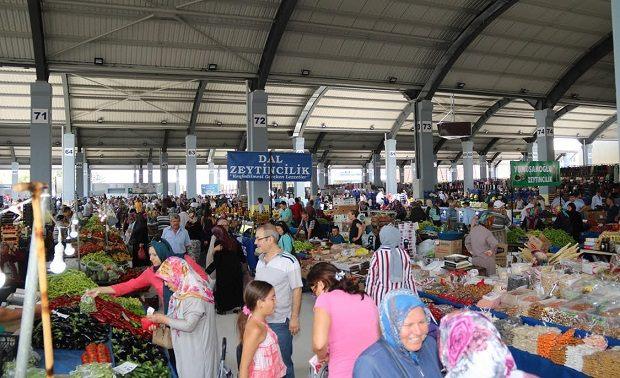 Biga Belediyesi Halk Pazarı Açıldı
