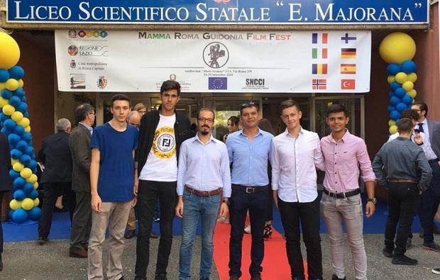 Bigalı Öğrenciler Roma Film Festivalinden Birincilikle Döndüler