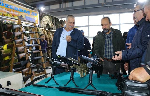 Kepez'de İlk Fuar: Avcılık Fuarı