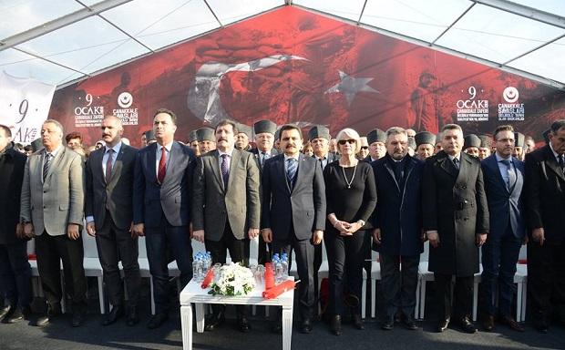 Gelibolu'nun Tahliyesinin 103'üncü Yılı Törenle Kutlandı
