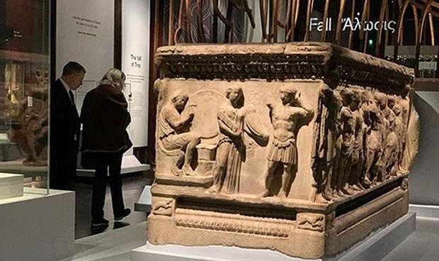 Troya'dan Çalınanlar Londra'da Troya Sergisinde!