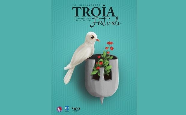 55. Uluslararası Troia Festivali Afiş Yarışması Sonuçları Belli Oldu