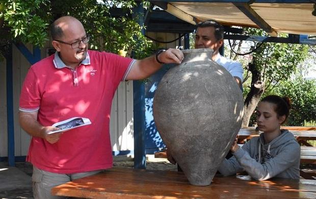 Eceabat'ta 2 Bin 500 Yıl Önce Tereyağı Üretilmiş!