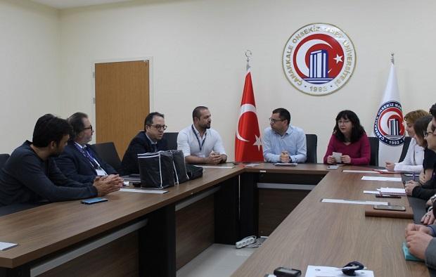 ÇOMÜ'de Corana Virüsü Acil Eylem Planı Toplantısı Yapıldı