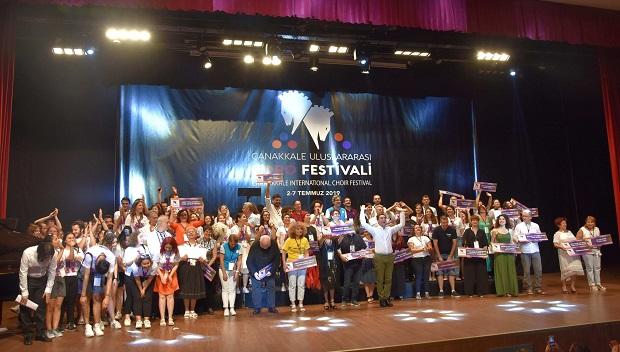 Uluslararası Koro Festivali Açılış Töreni İle Başladı