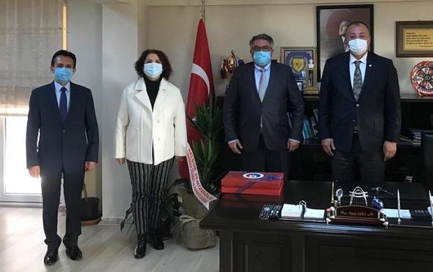 ÇTSO Yönetiminden İl Defterdarlığına Ziyaret