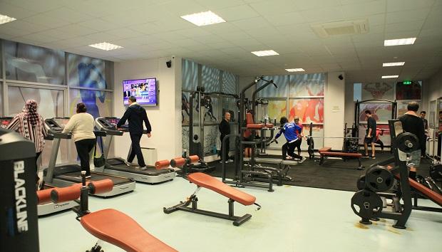 Sağlıklı Yaşam Merkezi'nde Spor Keyfi..