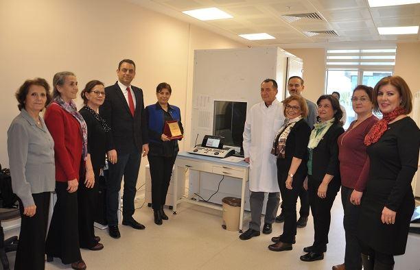 TYSD'den Devlet Hastanesine Bağış