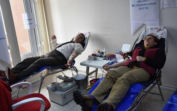 İl Kültür ve Turizm Müdürlüğünden Kan Bağışı Kampanyası