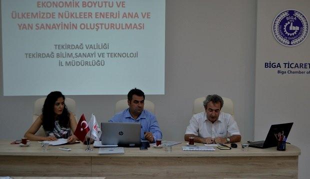 """Biga TSO'da Kritik Sektörlerde """"Yerlileştirme"""" Konferansı"""