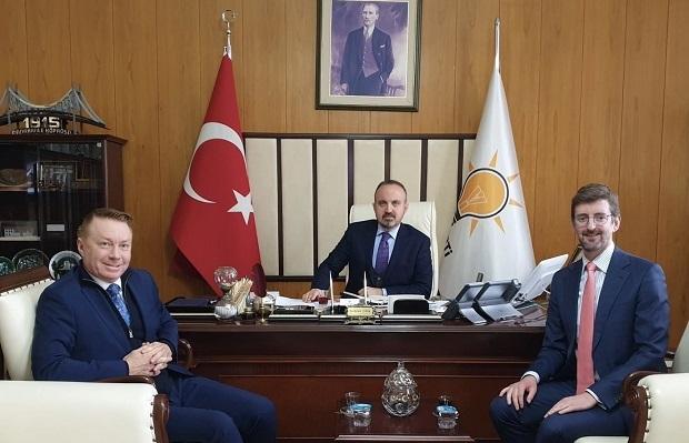 Avustralya Büyükelçisinden Turan'a Ziyaret