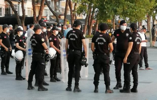 Çanakkale'de Çevik Kuvvetli Önlem!