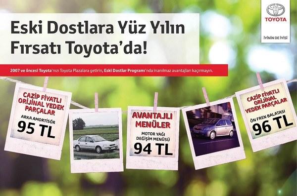 Toyota Plaza Aydoğan Eski Dostlarını Unutmuyor