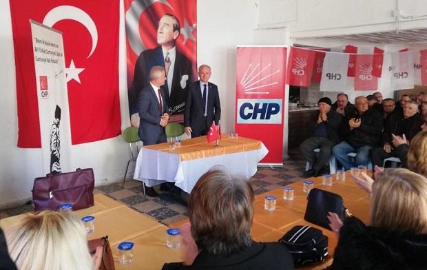 CHP Gelibolu'dan Güneşhan'a Destek
