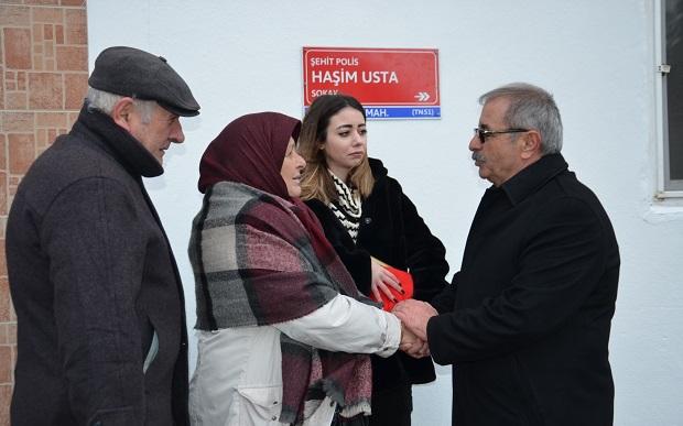Şehit Polis Usta'nın İsmi Ölümsüzleştirildi