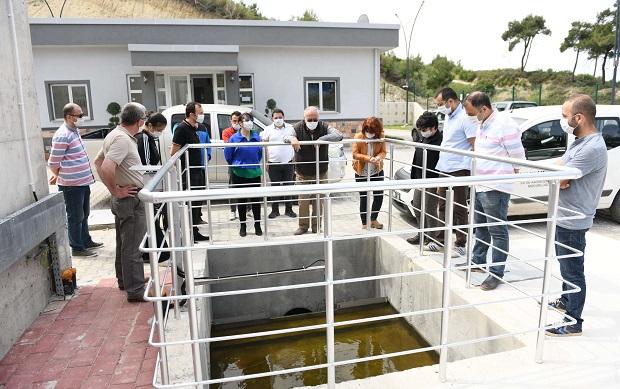 Dardanos-Güzelyalı Atık Su Arıtma Tesisi Faaliyete Geçti