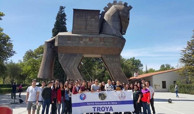 ÇTSO, Öğrencileri Troya ile Buluşturuyor