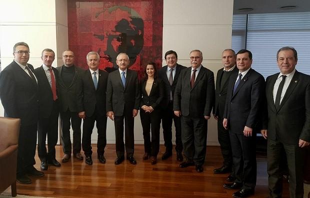 CHP'li Delegelerden Kılıçdaroğlu'na Destek Ziyareti