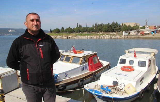 Balıkçılardan Ayhan Gider'e Teşekkür