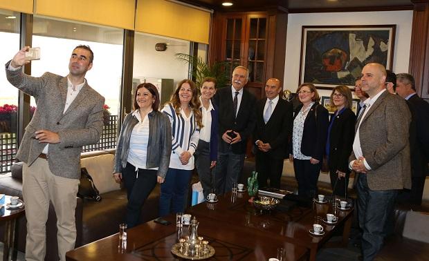 Ülgür Gökhan Kooperatifçilik Çalışması İçin İzmir'de