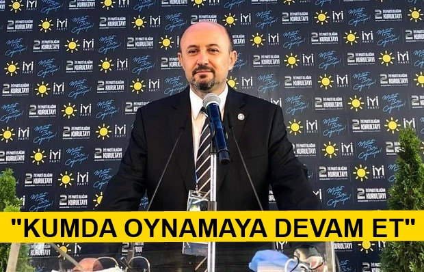 İYİ Partili Gapran'dan AK PArtili Yıldıray Ölçek'e Sert Yanıt