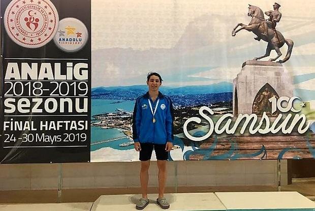 Hasan Can Korkmaz Türkiye Şampiyonu Oldu