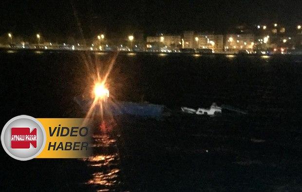 GESTAŞ Feribotu Balıkçı Teknesine Çarptı